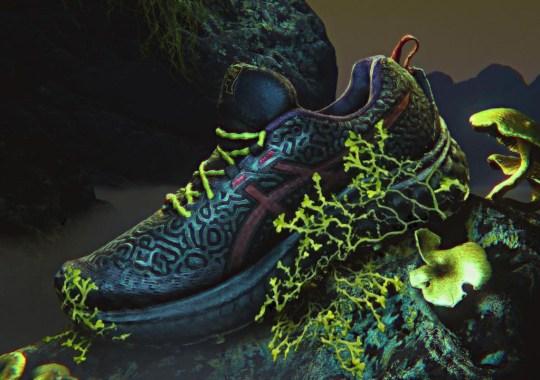 "BRAIN DEAD Brings An ""Organic Chaos Design"" To The ASICS TRABUCO MAX"