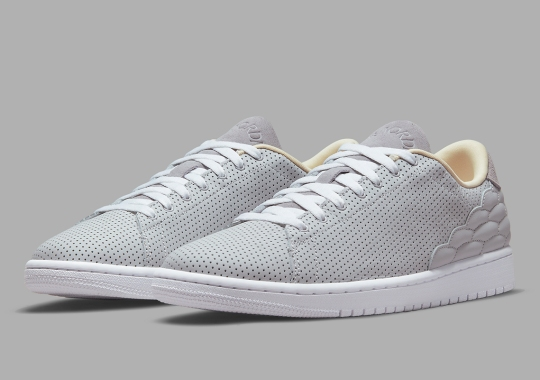 The Air Jordan 1 Centre Court Returns In Grey And Yellow