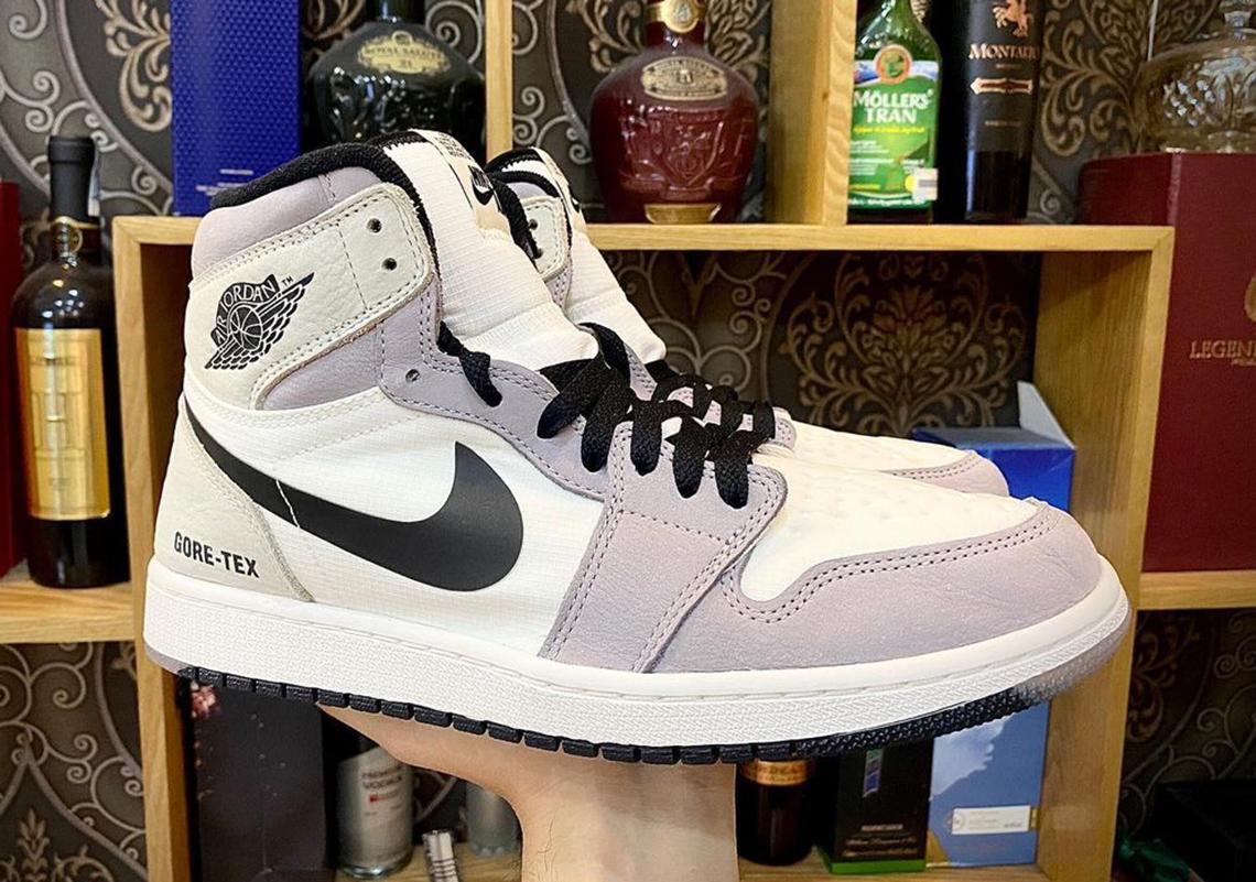 Air Jordan 1 GORE-TEX White Grey Release Info | SneakerNews.com