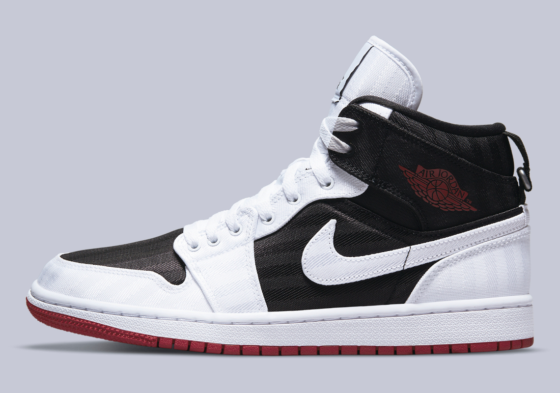 Air Jordan 1 Mid SE White Black Red DD9338-016 | SneakerNews.com