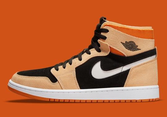 The Air Jordan 1 Zoom CMFT Brings Out Some Pumpkin Spice For The Fall