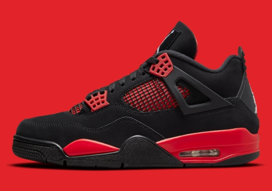 """Official Images Of The Air Jordan 4 """"Red Thunder"""""""