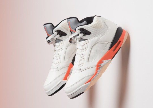 "Where To Buy The Air Jordan 5 ""Orange Blaze"""