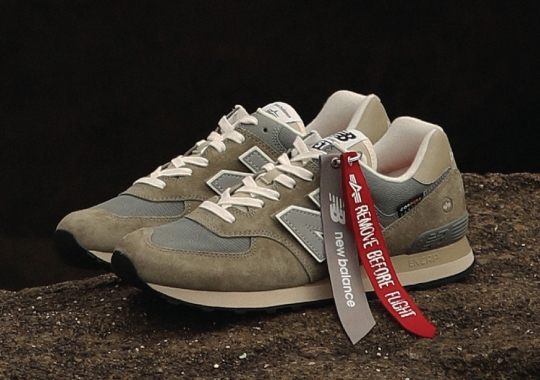 Alpha Industries Applies Its Military Expertise To The New Balance 574