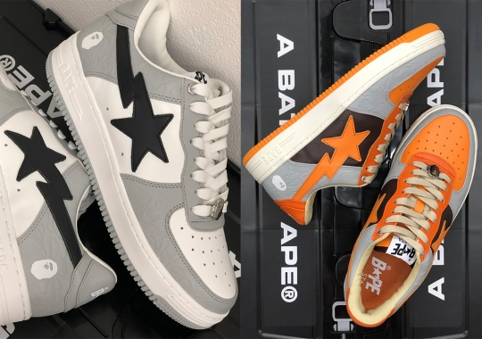 The Iconic ABC Camo Is Etched Into These October-Bound BAPE STA Colorways