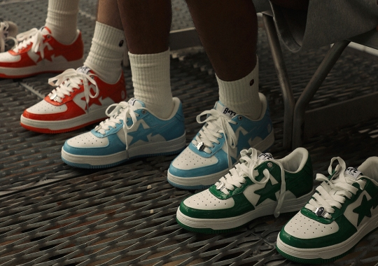"""The BAPE STA Blends Together Old School Influences For The """"Street Hybrid"""" Collection"""