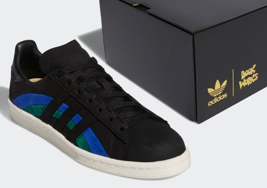 adidas Commissions Book Works For A Pair Of Jazz-Inspired Campus 80s