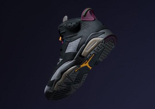 "The Air Jordan 6 ""Bordeaux"" Releases Tomorrow"