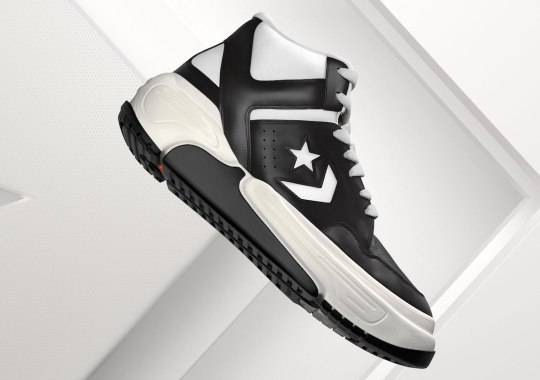 The Converse Weapon CX Is A Modern Take On An '80s Court Classic