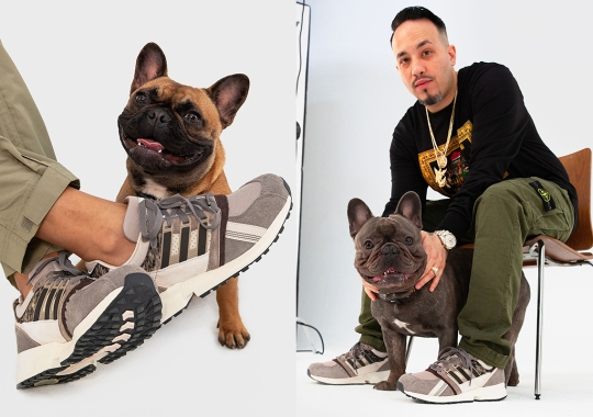 Extra Butter And adidas Use The Equipment CSG 91 To Celebrate Man's Best Friend