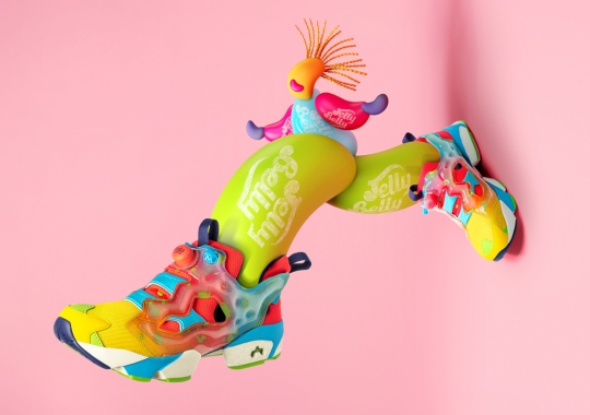 Jelly Belly And Reebok Release A Sweet Set Of Sneakers On September 26th