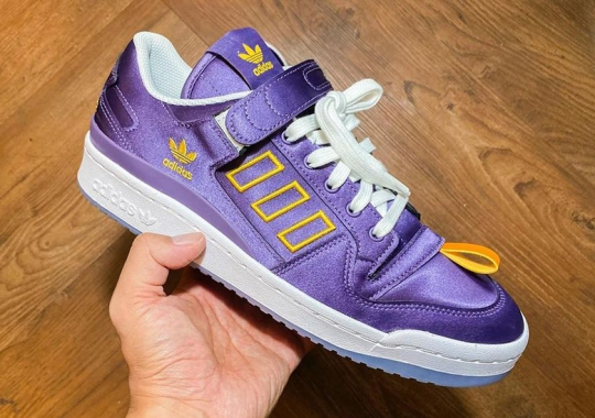 Kasina Covers Their adidas Forum Low Collaboration In Purple And Gold