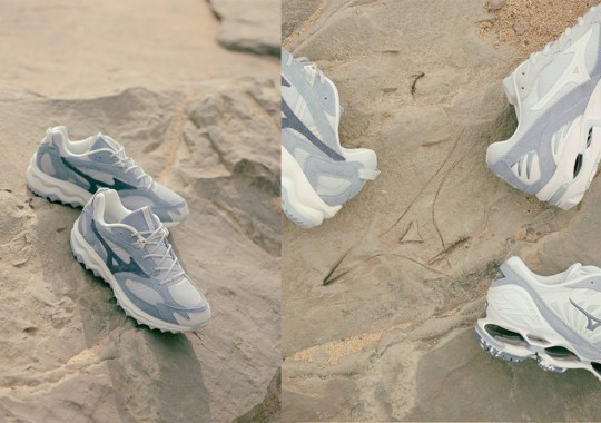 """Footpatrol's Mizuno """"Artefact Pack"""" Collaboration Draws From Old Japanese Ruins"""