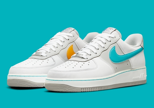 """Nike Takes Us Back To The '96 All-Star Game With The Air Force 1 """"Fiesta"""""""