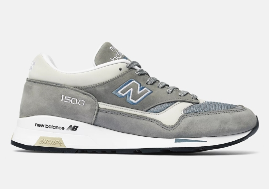 """The New Balance 1500 Borrows The Iconic """"Steel Blue"""""""