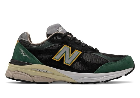 The New Balance 990v3 Appears In Green And Yellow Ahead Of 10th Anniversary