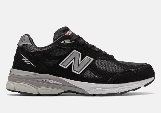 Classic Black And Grey Reappear On The New Balance 990v3 Ahead Of 10th Anniversary