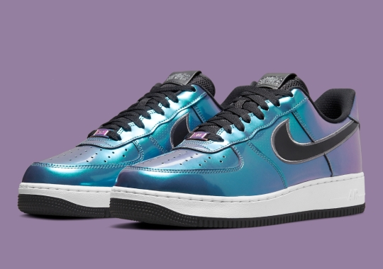 This Iridescent Nike Air Force 1 Low Features HTML Code