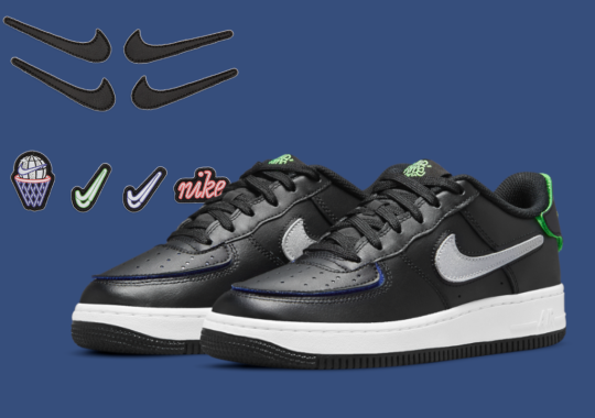 More Customizable Nike Air Force 1/1 Options Appear For Kids