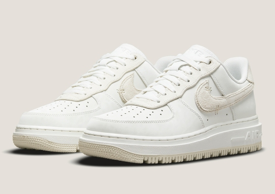 A Full Sail Suit Appears On The Nike Air Force 1 Low Luxe