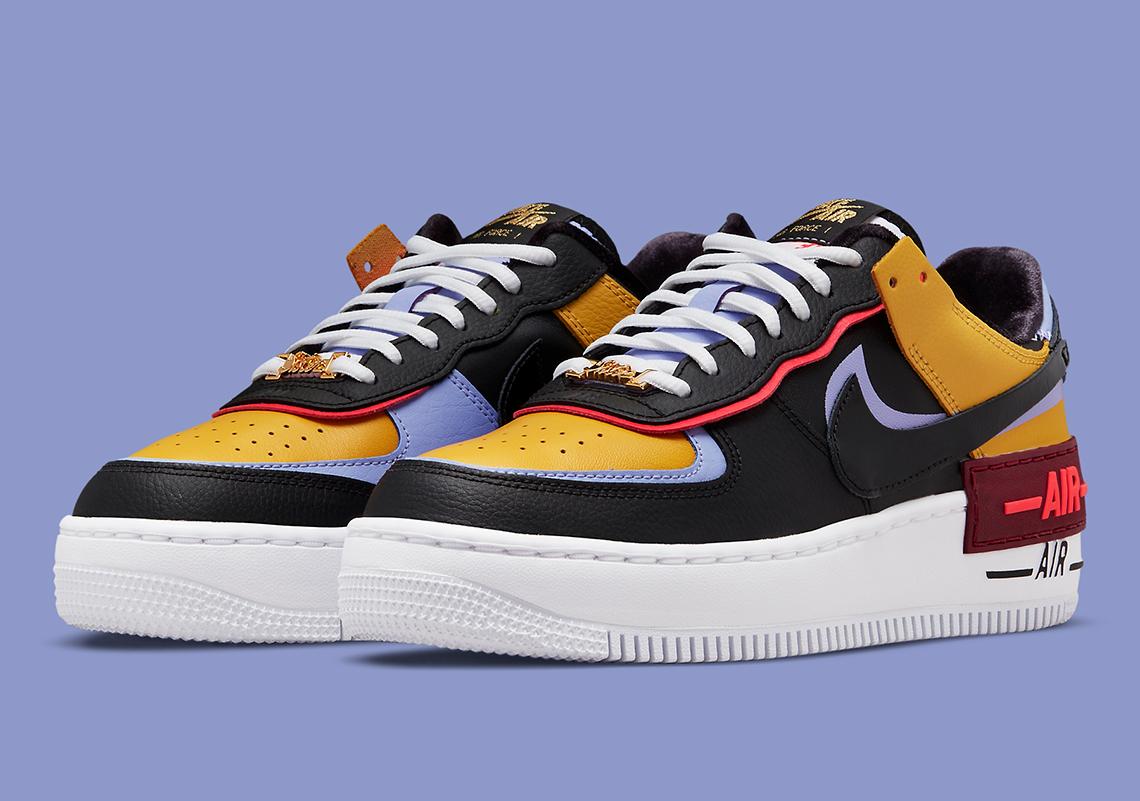 Nike Air Force 1 Shadow Sisterhood DO6114-700 | SneakerNews.com