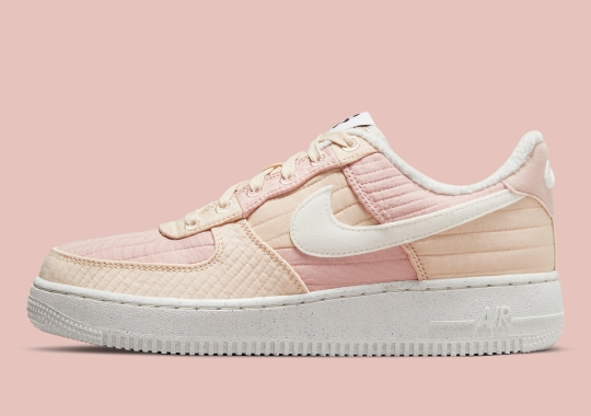 An Asymmetrical Pink Look Lands On The Nike Air Force 1 Toasty
