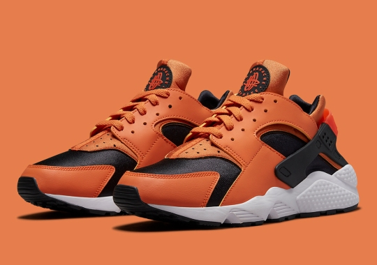 The Nike Air Huarache Receives Its Own Halloween-Ready Colorway