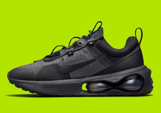 The Nike Air Max 2021 Goes Triple Black