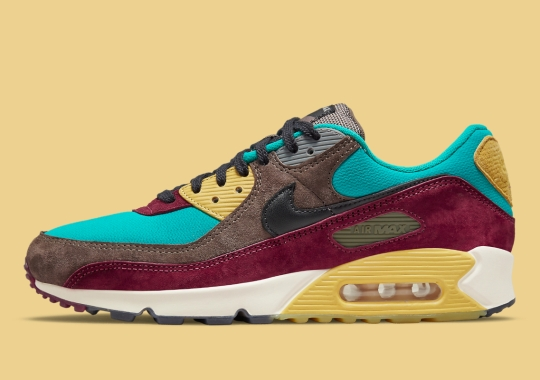 The Nike Air Max 90 NRG Goes Multi-Color For Fall