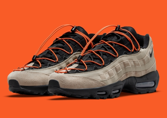 A New Speed-Lacing System Lands On The Nike Air Max 95