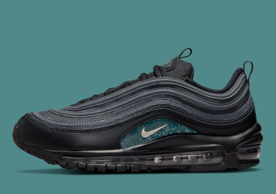 """""""Emerald Green"""" Patterns Land On This Stealthy Nike Air Max 97"""