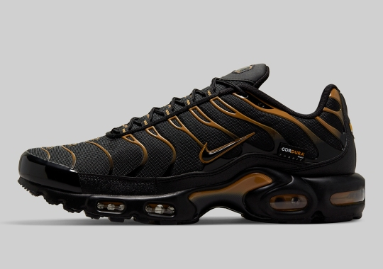 The Nike Air Max Plus Armors Itself With Cordura For Fall/Winter 2021
