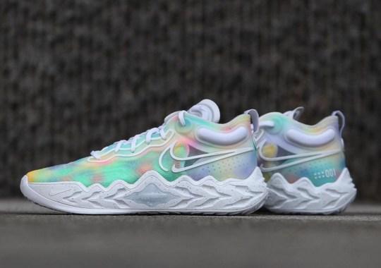 Pastel Tie-Dye Covers This Nike Air Zoom G.T. Run