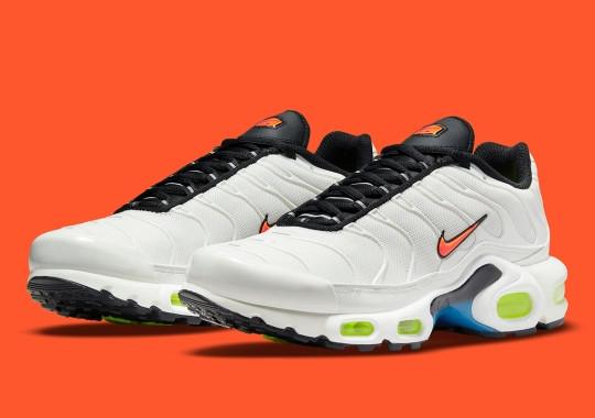 The Nike Air Max Plus Gets Touched With Neon Accents For Upcoming Seasonal Collection