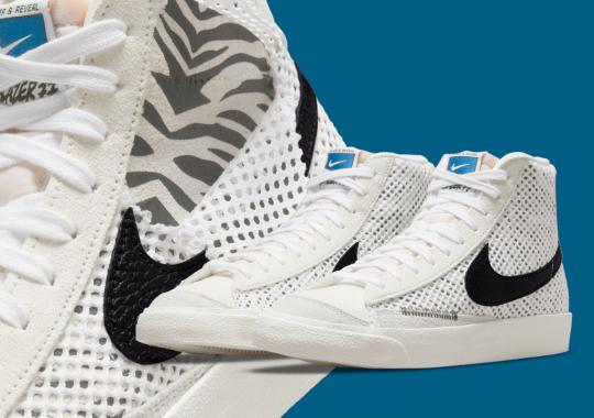 "Daktari Patterns Appear On The Nike Blazer Mid ""Alter & Reveal"""