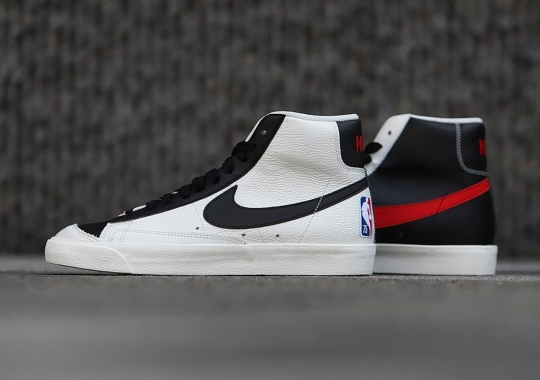 The Nike Blazer Mid '77 Joins The NBA 75th Diamond Anniversary Collection