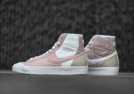 Pink Color-Blocking Takes Over The Latest Nike Blazer Mid Next Nature