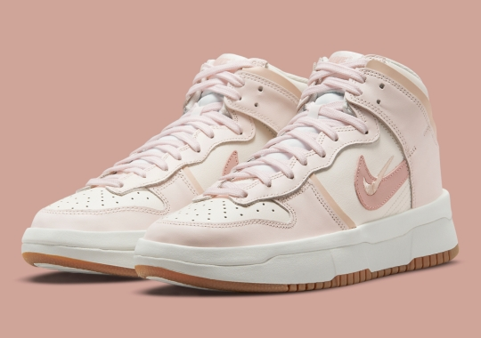 """Nike Dunk High Rebel """"Pink Oxford"""" Is Revealed"""