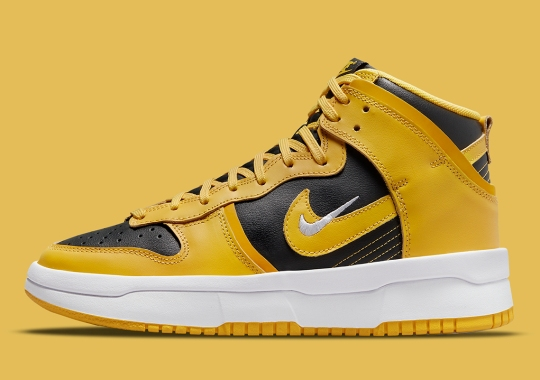 "The Nike Dunk High Rebel Does Its Best ""Goldenrod"" Impression"