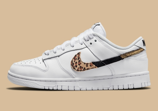 """This Women's Nike Dunk Low Draws Out Its """"Animal Instinct"""""""