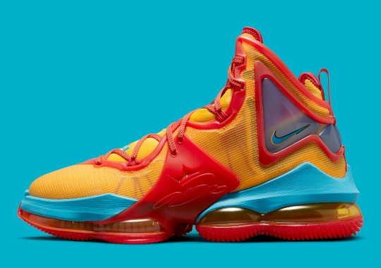 """Official Images Of The Nike LeBron 19 """"Tune Squad"""""""