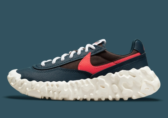Crimson Swooshes Land On The Latest Nike OverBreak