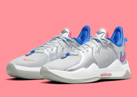 Alternate LA Clippers Colors Appear On The Nike PG 5