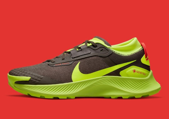 """The Nike Pegasus Trail 3 GORE-TEX Appears In """"Brown/Volt"""""""