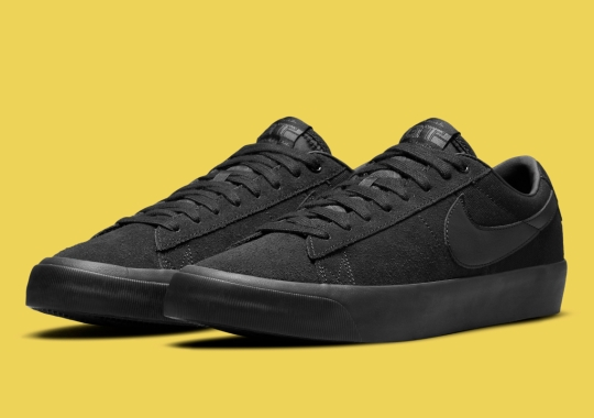 A Stealthy All-Black Takes Over The Nike SB Zoom Blazer GT