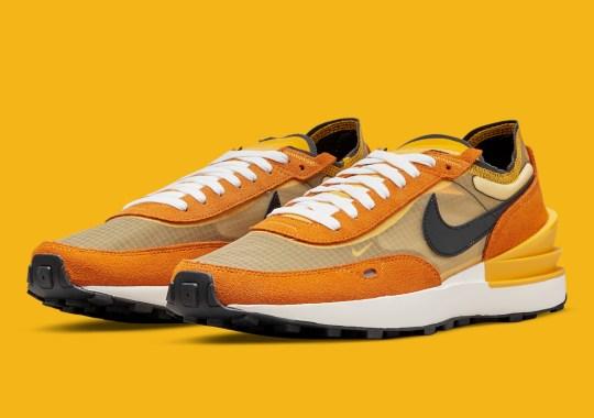 Orange Takes Over The Nike Waffle One Ahead Of Halloween