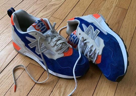 The 1986 New York Mets Inspired This Scrapped Packer x New Balance 660 Collaboration
