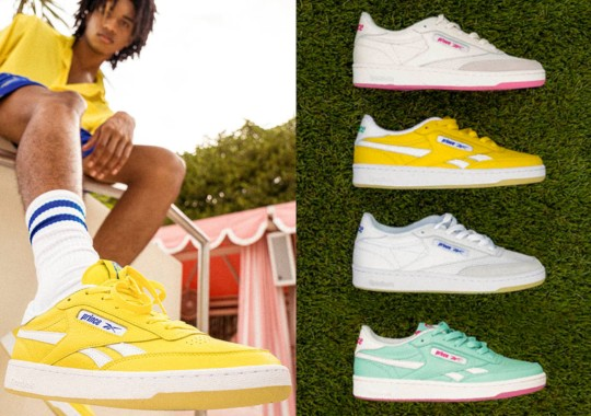 Prince And Reebok's Shared Tennis Heritage Inspired This Club C And Apparel Collection