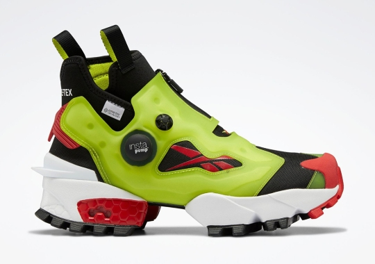 The Reebok Instapump Fury X GORE-TEX Is Set To Launch On September 15th