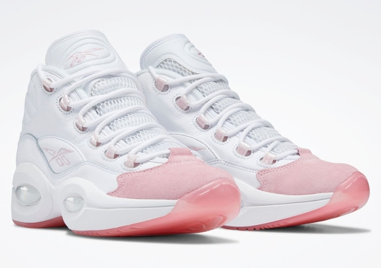 """Reebok Question Mid """"Pink Toe"""" Releasing On October 8th"""